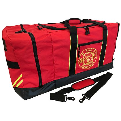 Exclusive Firefighter Helmet and Turnout Gear Bag