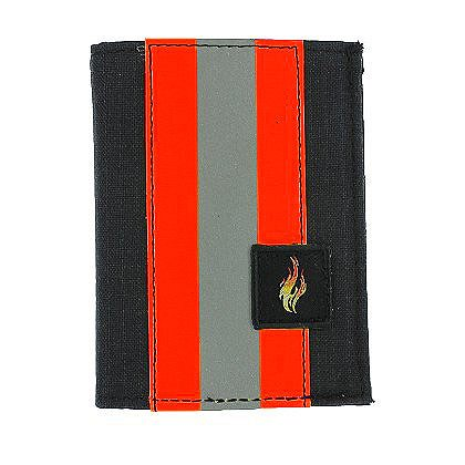 TheFireStore Exclusive Trifold Dress Wallet with Single ID Window, PBI Black Matrix, 2