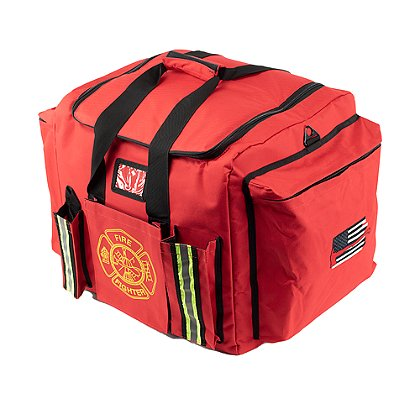 Exclusive XXL Firefighter Gear Bag with American Flag & Axe