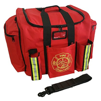 Exclusive XXL Firefighter Gear Bag, Red