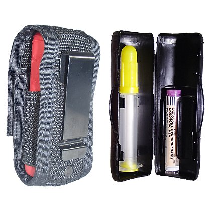 NarCase V1 Naloxone Case with Nylon Holster w/Clip