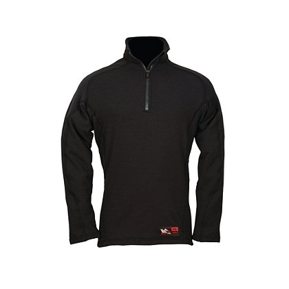 DragonWear Power Grid 1/4 Zip, Long Sleeve Baselayer Shirt