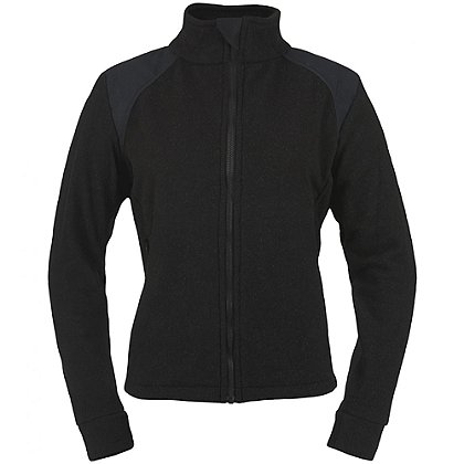 DragonWear Women's Nomex Fleece EXXTREME Jacket, Black