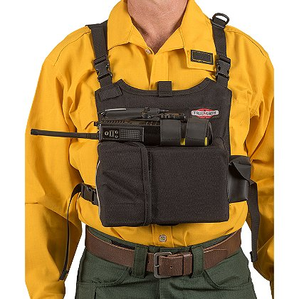 True North Dozer Radio Chest Harness, Black