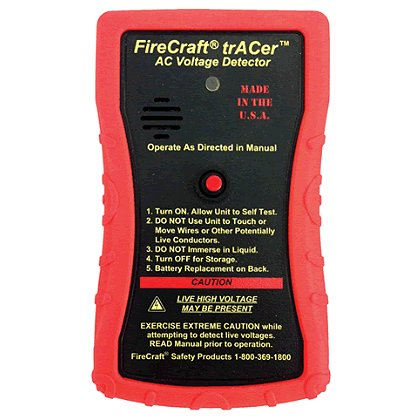 FireCraft Safety Tracer Handheld AC Voltage Detector