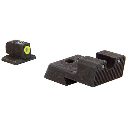 Trijicon 1911 Novak Cut HD Night Sight Set w/ Yellow Front Outline
