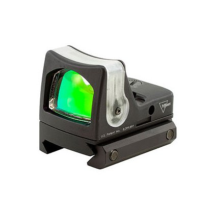 Trijicon RMR Dual Illuminated Sight, 9.0 MOA Amber Dot with RM33 Picatinny Rail Mount