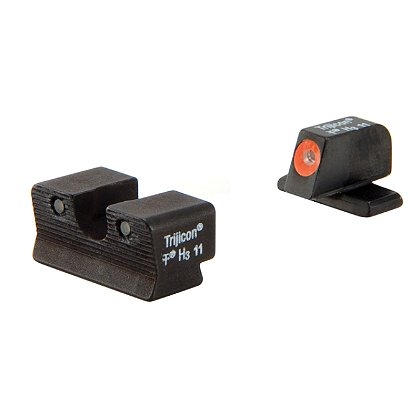 Trijicon HD Orange Sights fit the Springfield Armory XD-S and XD-E