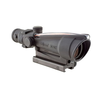 Trijicon ACOG 3.5x35 Scope, Dual Illuminated Red Crosshair .308 Ballistic Reticle w/TA51 Mount