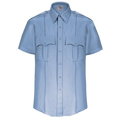 ELBECO TexTrop Men's Stretch 100% Polyester Dress Uniform Shirt
