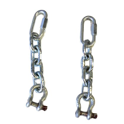 TerraTek Attachment Chains, Sold as a Pair