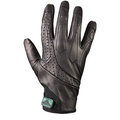 Turtleskin Delta Gloves, Puncture Resistant, Black Leather