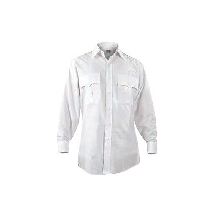 Elbeco CheckPointe Long-Sleeve Poplin Shirt