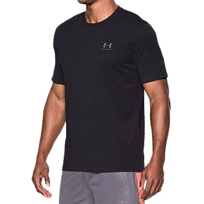 Under armour men s heatgear charged cotton sportstyle t shirt for Under armour charged shirt