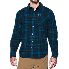 05fd467f Under Armour Mens ColdGear Borderland Flannel Long Sleeve Shirt