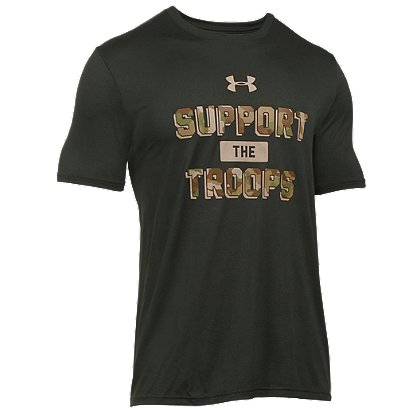 Under Armour Men's HeatGear Support The Troops Tech T-Shirt
