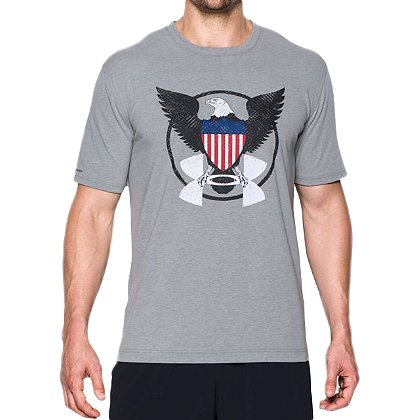 Under Armour Men's HeatGear USA Eagle T-Shirt