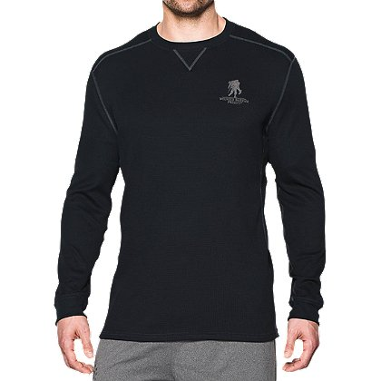 Under Armour Men's ColdGear Wounded Warrior Project Amplify Thermal Long Sleeve Shirt