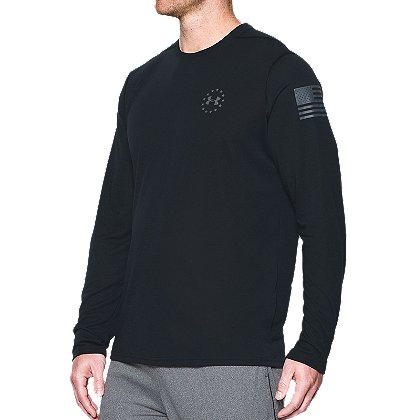 Under Armour Freedom Threadborne Long-Sleeve Siro