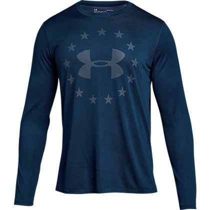 Under Armour Freedom Logo Long-Sleeve T-Shirt