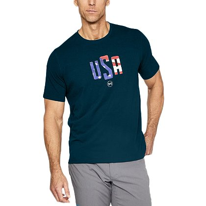 Under Armour USA Mono 2.0 Short-Sleeve Tee