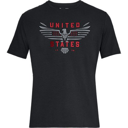 Under Armour Freedom US Eagle Short-Sleeve Tee Shirt