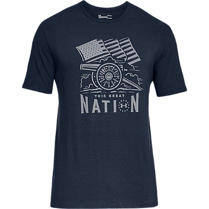 Under Armour Freedom Cannon Short-Sleeve Tee Shirt