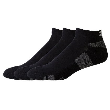 Under Armour HeatGear Tech Low Cut Socks, 3-pk