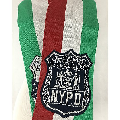 USA Blanket and Scarf Italian NYPD Detective Scarf