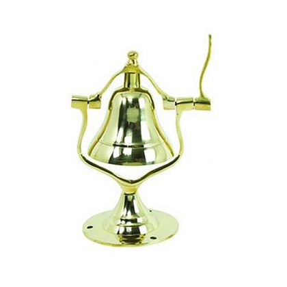 Brass Fire Truck Desk Bell