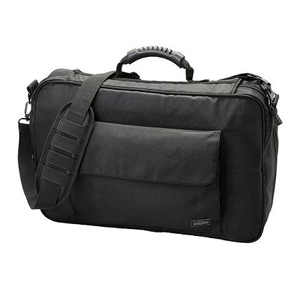 Uncle Mike's Nylon Police Briefcase, Black