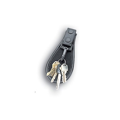 Uncle Mike's Open Key Ring Holder, Black