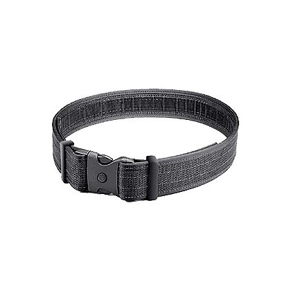 Uncle Mike's Ultra Duty Belt, No VELCRO® brand Lining, Black Nylon Web