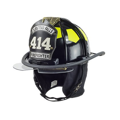 Bullard Traditional Helmet with TrakLite Integrated Light System