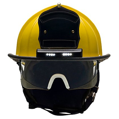 Bullard: ReTrak Structural Helmet with TrakLite Lighting System