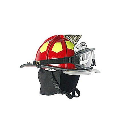 Bullard Traditional Fire Helmet Matte Finish, Red