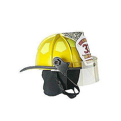 Bullard Traditional Fire Helmet Matte Finish, Yellow