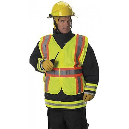 Lakeland 4-Point Breakaway Public Safety Vest, ANSI/SEA Class 2