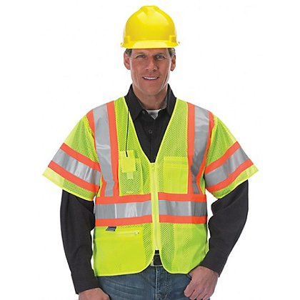 Lakeland ANSI 107-2010 Class 3 Hi-Vis Sleeved Public Safety Vest