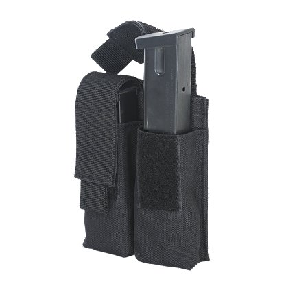 Voodoo Tactical Pistol Mag Pouch, Double