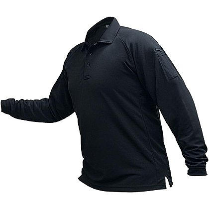 Vertx Coldblack Long-Sleeve Polo