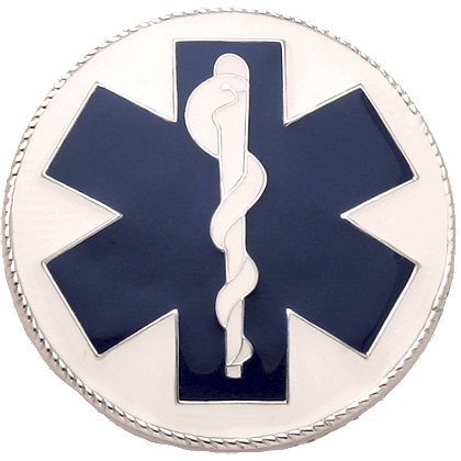 Smith & Warren Star of Life Collar Brass