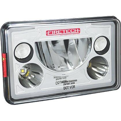 Fire Tech 4x6 Factory Headlight