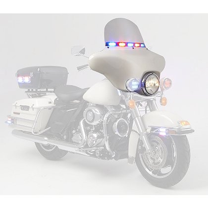 Whelen Windshield Light Array for 2014-2016 Harley-Davidson® Electra-Glide®.