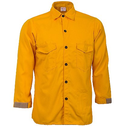 Crew Boss Traditional Brush Shirt, 5.8 oz Tecasafe Plus