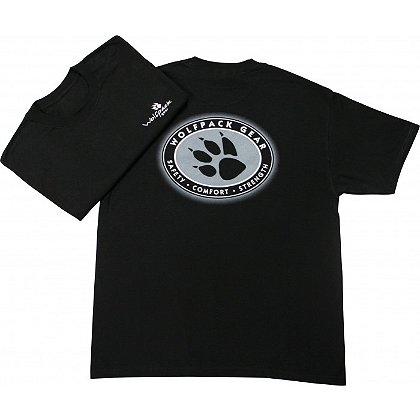 Wolfpack Gear Black & White T-Shirt