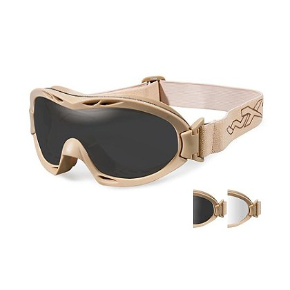 Wiley X Nerve Goggle, Two Lens Kit