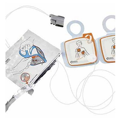 Cardiac Science Intellisense Pediatric Defibrillation Pads for Powerheart G5 AED