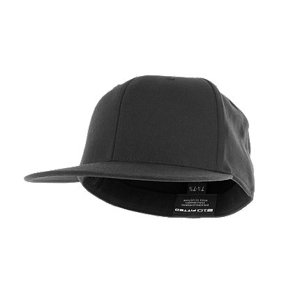 fb0b606379146 Flexfit Premium Fitted Hat with Flat Visor