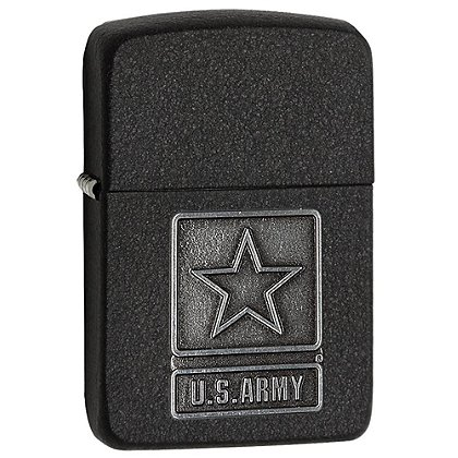 Zippo 1941 Replica Black Crackle US Army Lighter